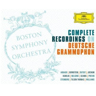 Boston Symphony Orchestra<br>Complete Recordings On Deutsche Grammophon<br>57CD